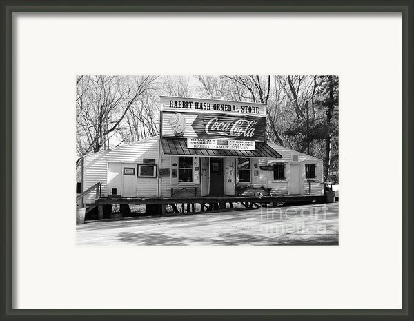 The Old General Store Bw Framed Print By Mel Steinhauer