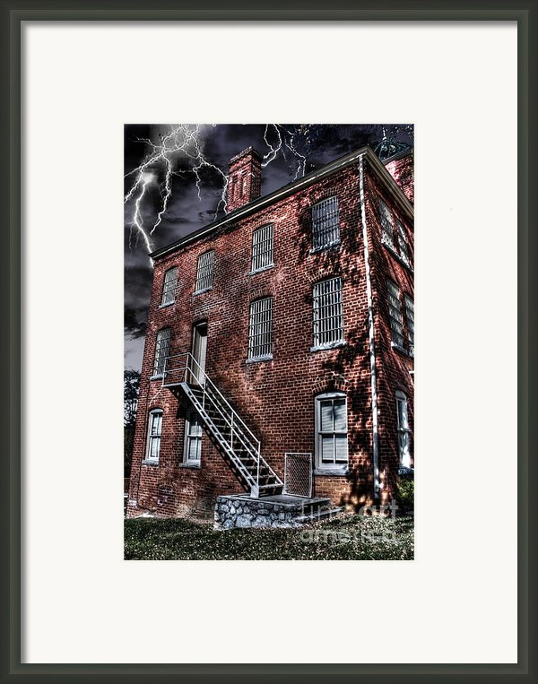 The Old Jail Framed Print By Dan Stone