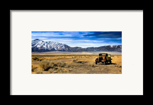 The Old One Framed Print By Robert Bales