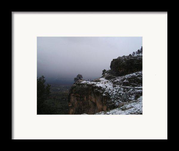 The Old Rock  Framed Print By Boultifat Abdelhak Badou