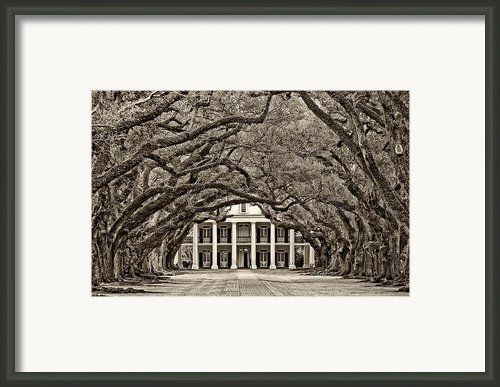 The Old South Sepia Framed Print By Steve Harrington