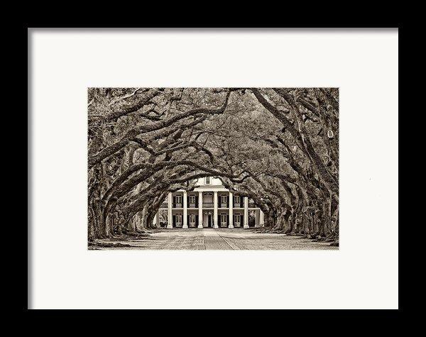 The Old South Sepia Framed Print By Steve Harrington