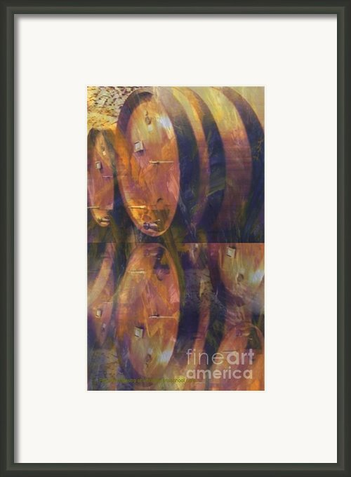 The Older The Better Framed Print By Painterartist Fin