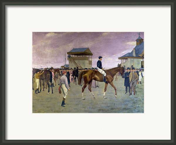 The Owner S Enclosure Newmarket Framed Print By Isaac Cullen
