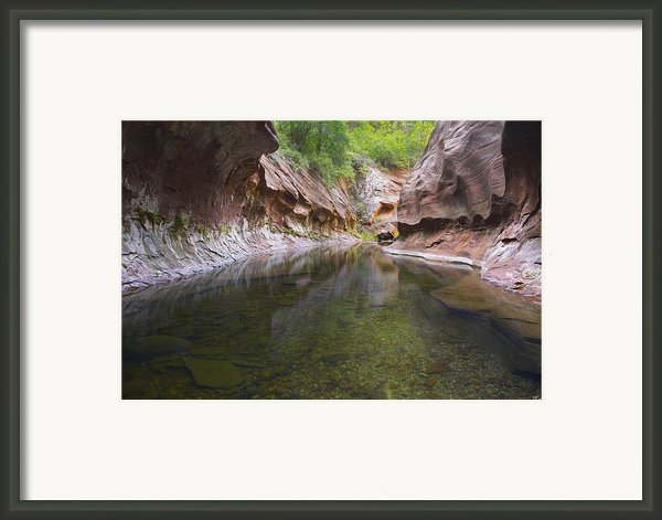 The Passage Framed Print By Peter Coskun