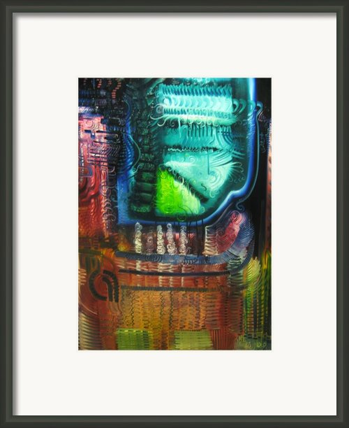 The Pestilent Wine Framed Print By Michael Kulick