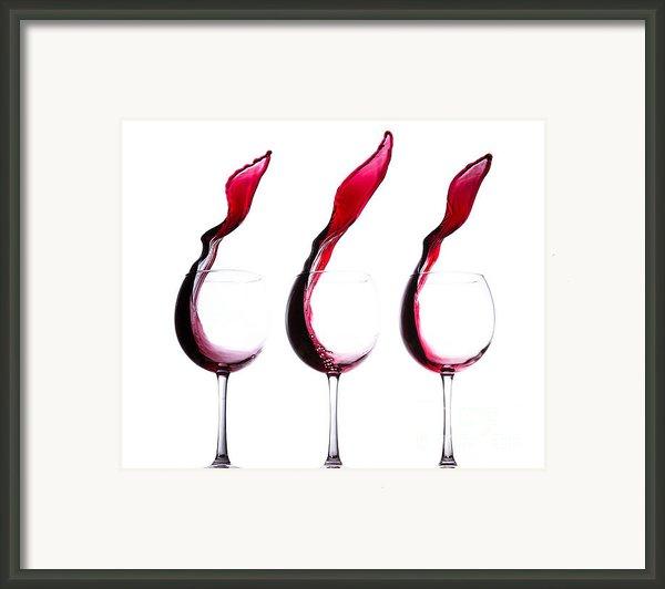The Physics Of Wine Framed Print By Jordan Danko