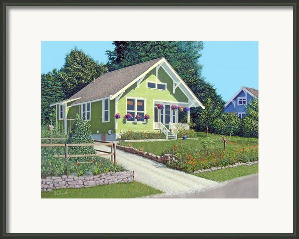 The Pickles House Framed Print By Gary Giacomelli