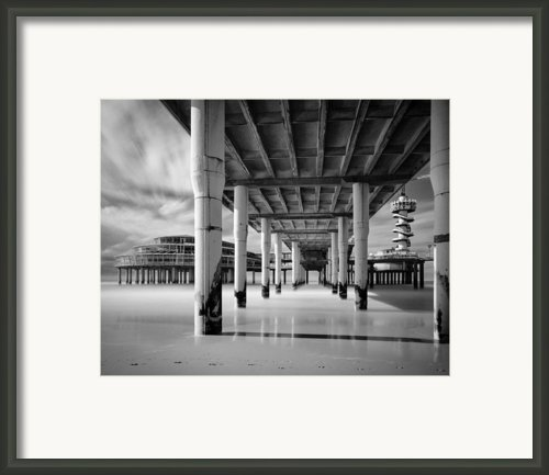 The Pier Iii Framed Print By David Bowman