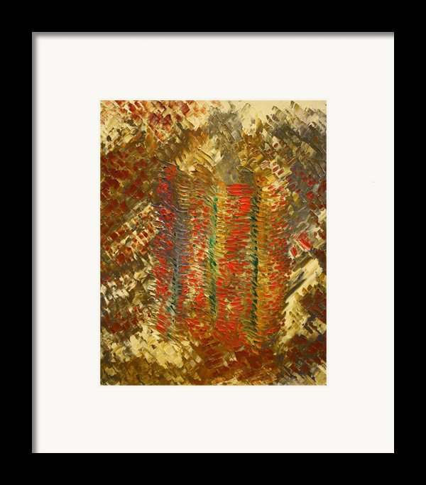 The Pillars Of Creation Framed Print By Michael Kulick
