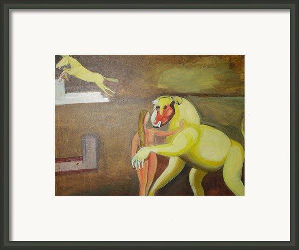 The Play Framed Print By Prasenjit Dhar