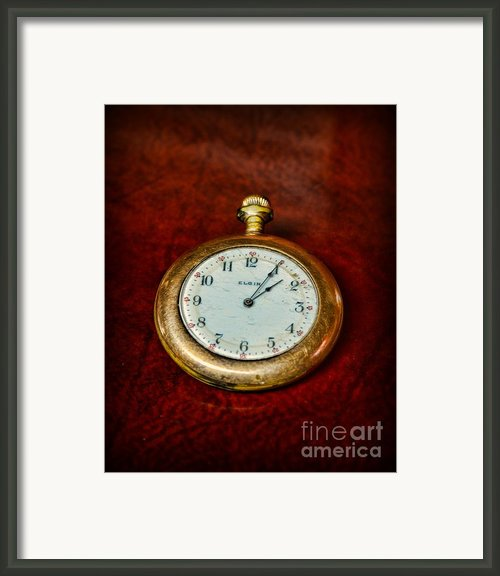The Pocket Watch Framed Print By Paul Ward