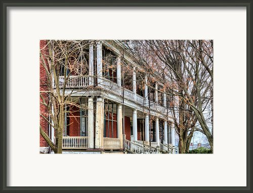 The Porch Framed Print By Jc Findley
