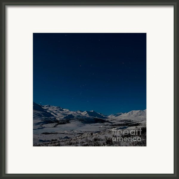 The Presence Of Absolute Silence Framed Print By Priska Wettstein