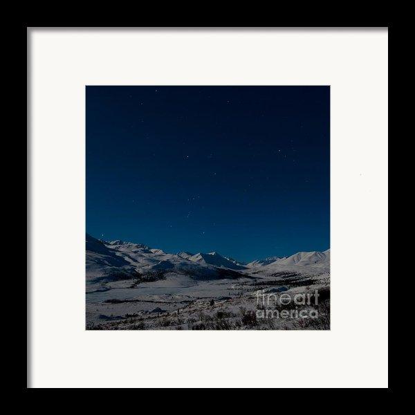 The Presence Of Absolute Silence Framed Print By Priska Wettstein