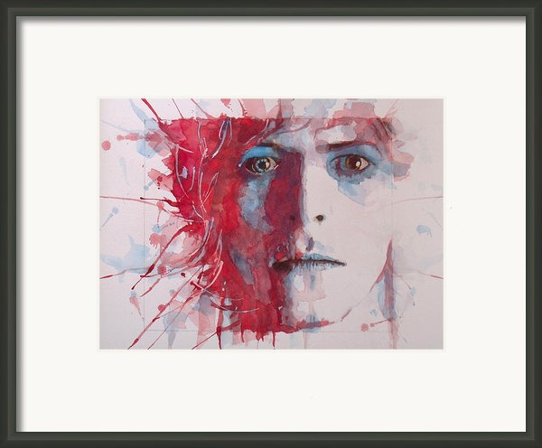The Prettiest Star Framed Print By Paul Lovering
