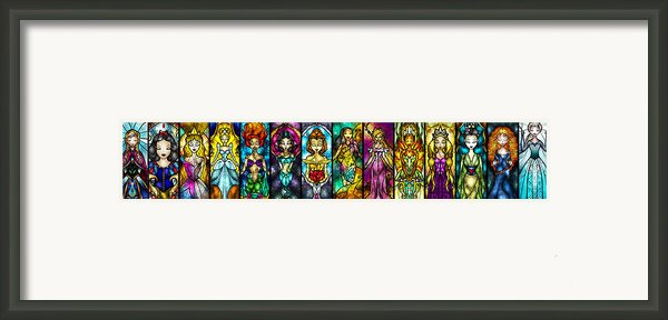 The Princesses Framed Print By Mandie Manzano