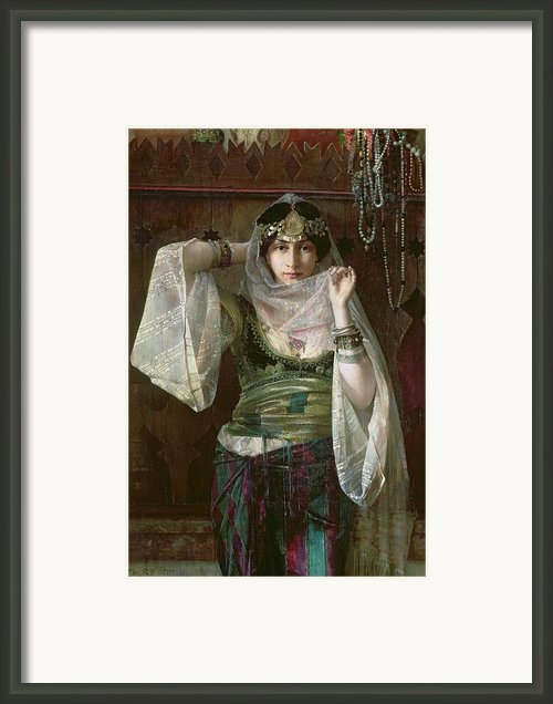 The Queen Of The Harem Framed Print By Max Ferdinand Bredt