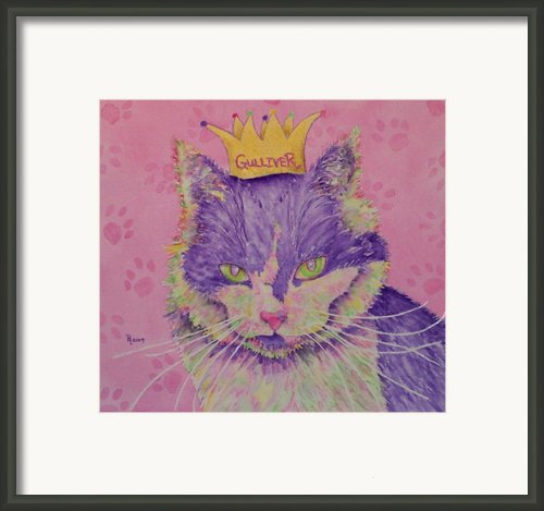 The Queen Framed Print By Rhonda Leonard