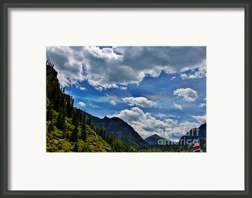 The Rare Phenomena Rainbows Framed Print By Janice Rae Pariza