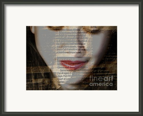 The Reader Framed Print By Steven  Digman