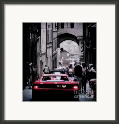 The Redhead Framed Print By Karen Lewis