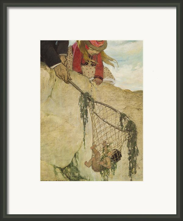 The Rescue Circa 1916 Framed Print By Aged Pixel