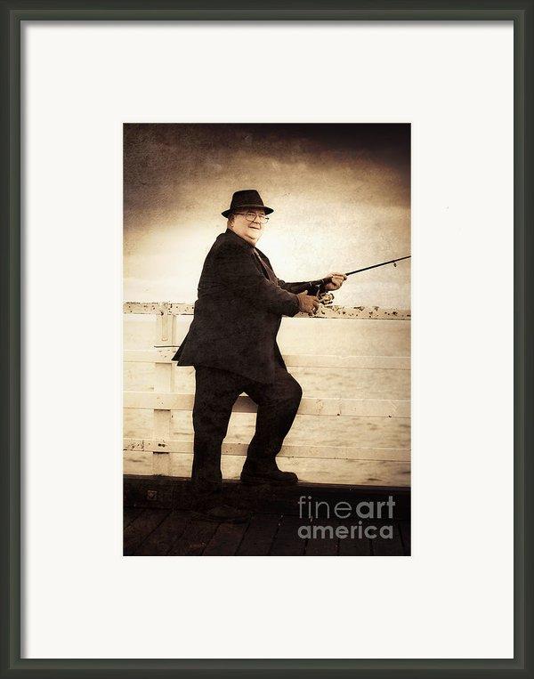 The Retired Skipper Framed Print By Ryan Jorgensen