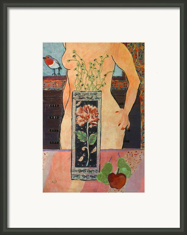 The Ring Framed Print By Diane Fine