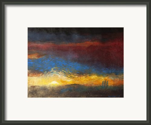 The Road To Emmaus Framed Print By Daniel Bonnell