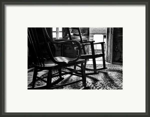 The Rockers Framed Print By Julie Dant