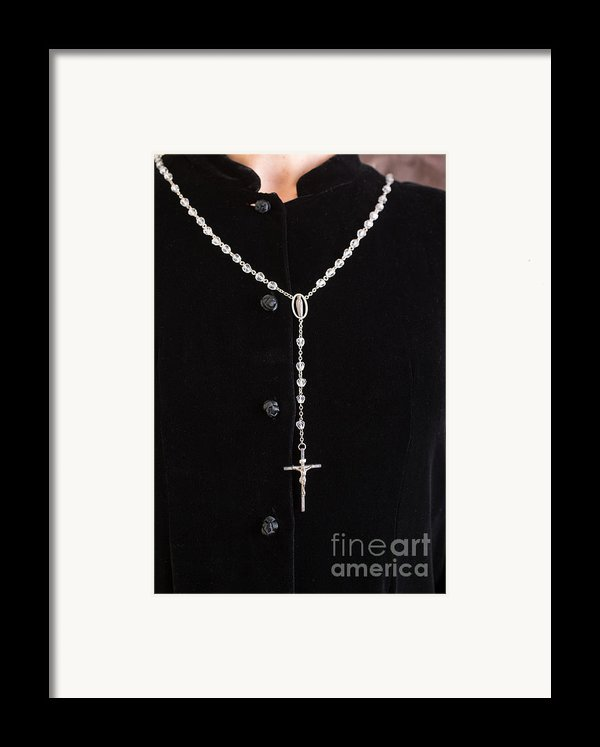 The Rosary Framed Print By Edward Fielding