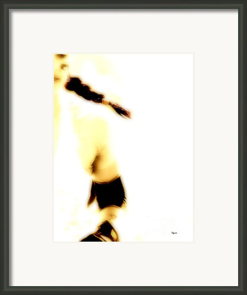 The Running Girl Framed Print By Steven  Digman