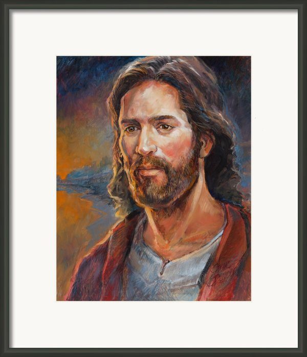 The Savior Framed Print By Steve Spencer