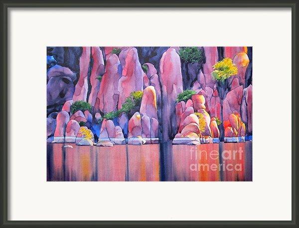The Secret Cove Framed Print By Robert Hooper