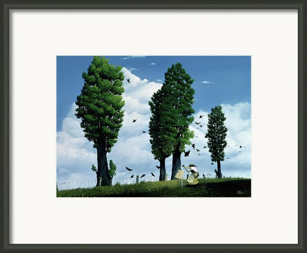 The Seeds Framed Print By Stephane Poulin