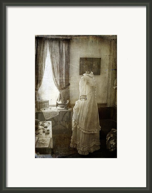 The Sewing Room Framed Print By Cindi Ressler