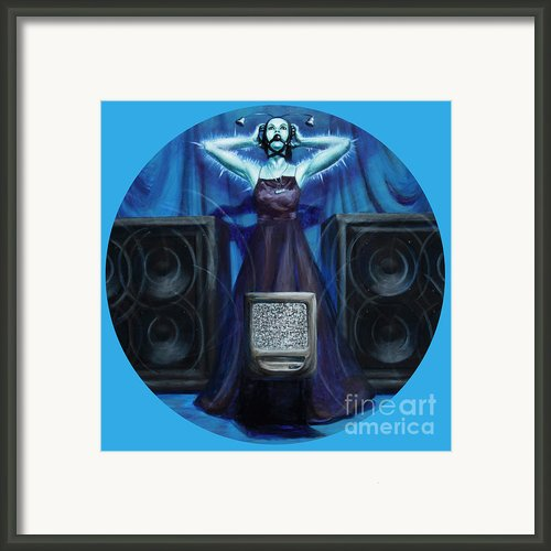 The Silenced Framed Print By Shelley Irish