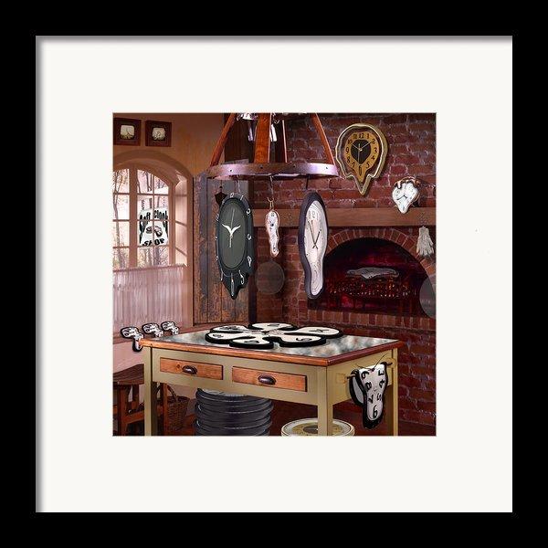 The Soft Clock Shop 3 Framed Print By Mike Mcglothlen