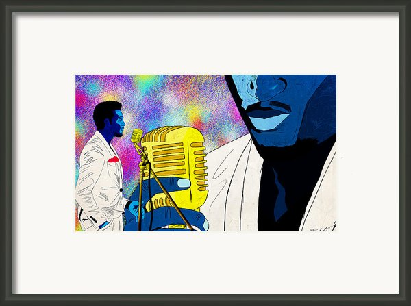 The Soul Singer Framed Print By Kenal Louis