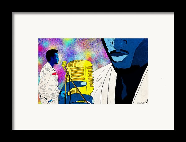 The Soul Singer Framed Print By Kenal Louis