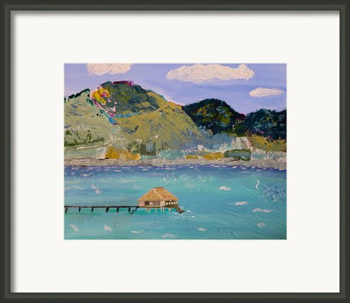 The South Seas Framed Print By Phyllis Kaltenbach