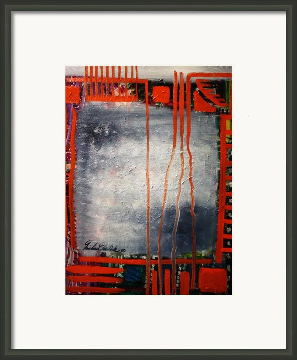 The Square Framed Print By Michael Kulick