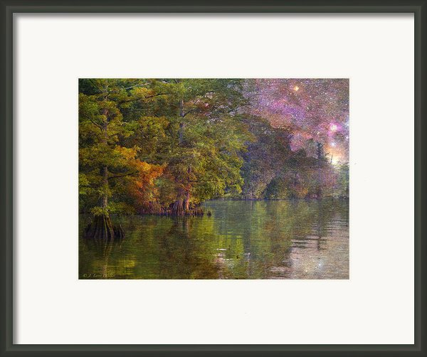 The Stars Give Way To The Sun Framed Print By J Larry Walker
