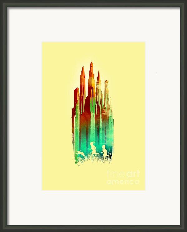 The Stone Castle Framed Print By Budi Satria Kwan
