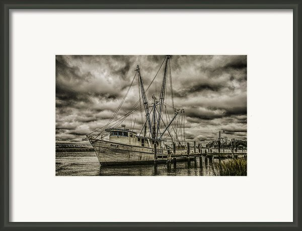 The Storm Framed Print By Steven  Taylor
