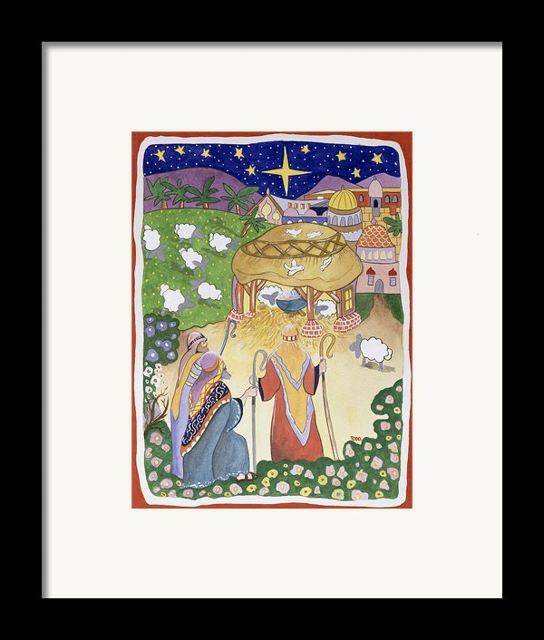 The Three Shepherds Framed Print By Tony Todd