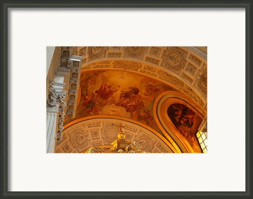 The Tombs At Les Invalides - Paris France - 01139 Framed Print By Dc Photographer