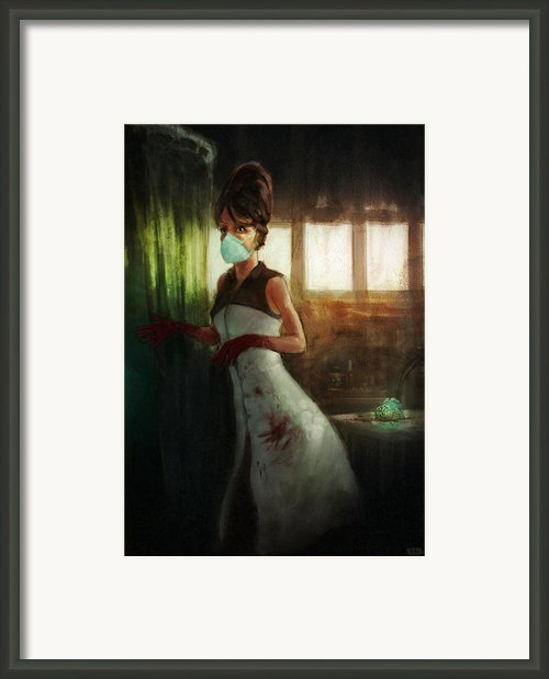 The Transplant Framed Print By Ethan Harris