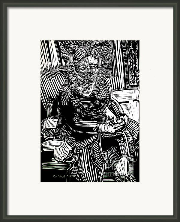 The Traveler Framed Print By Charlie Spear